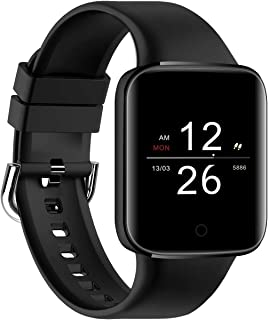 XYCSM Smart Watch,Reloj Inteligente, Sueño, Frecuencia Cardíaca, Presión Arterial, Oxígeno en la Sangre, Deportes Múltiples, Montañismo Y Ciclismo a Prueba de Agua (Para Android Y Ios) / Ne