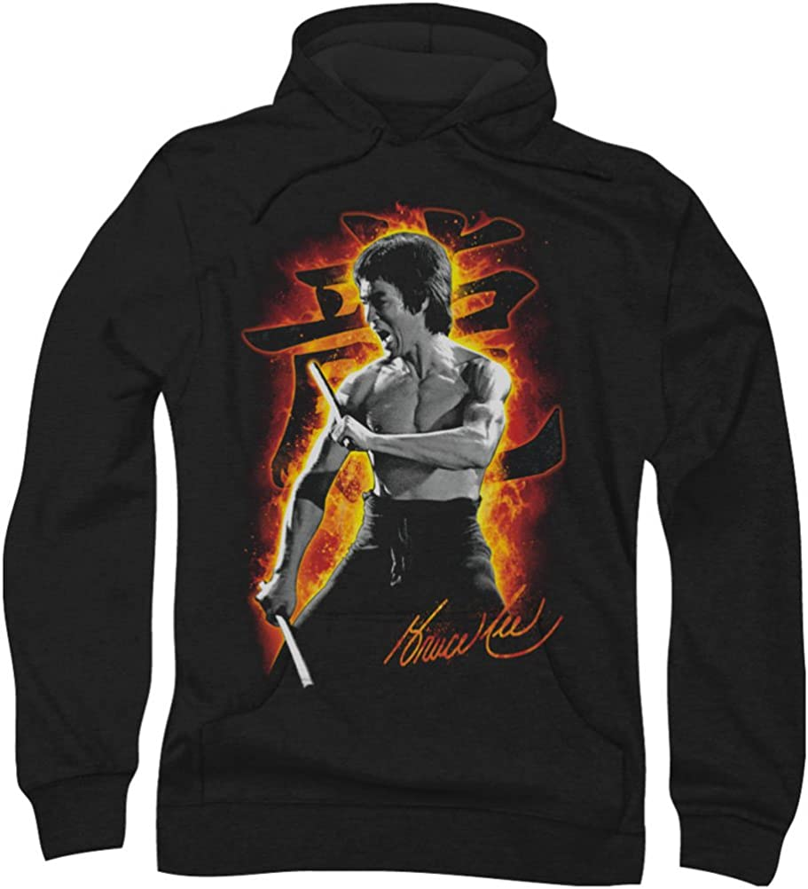 Bruce Lee Dragon Print Allover Licensed Sublimation Pullover Hoodie
