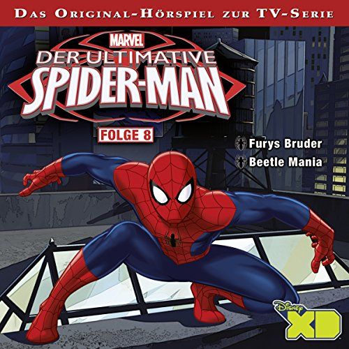 Der ultimative Spiderman 8 Titelbild