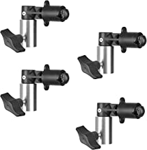 Reflector Holder Clip Photography Background Clamp for Photo Studio Reflector Backdrop Cloth (4 Pcs. Pack)…