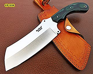 Poshland RK-CP-338, Handmade Carbon Steel Chopper Knife – Solid Micarta Handle