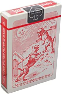 Bulldog Squeezers Playing Cards (Red Back Playing Cards 1 Pack)