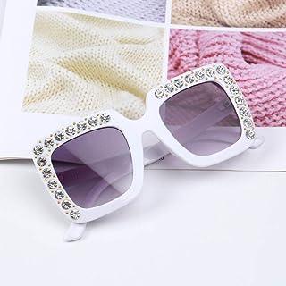 Powzz ornament - Gafas de sol de gran tamaño bonitas para niños de 2021 Gafas cuadradas para niños Gafas de sol de colores de moda para bebés Gafas de sol para niños y niñas-2_China