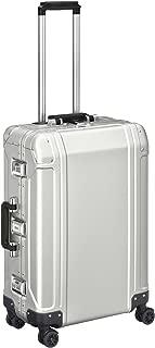 Zero Halliburton Geo Aluminum 2.0 24 4-Wheel Spinner Travel Case Silver