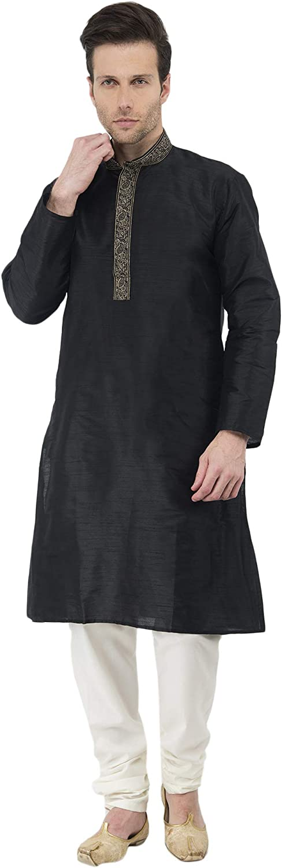 Kurta Pyjama für Männer Langarm-Taste Pyjama Set indisch Yoga Sommer Kleidung B016RN81E0  Beliebte Empfehlung