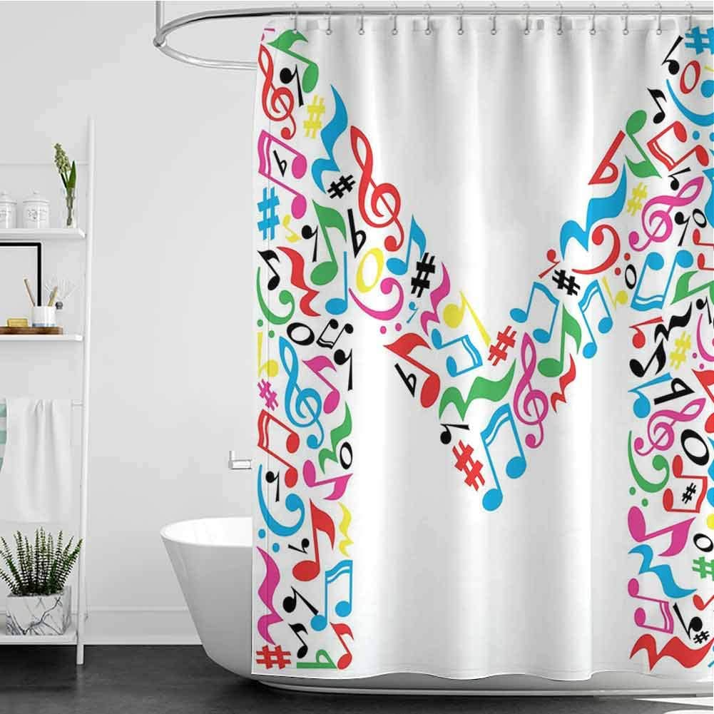 StarsART Shower Curtains for Kids Unisex Minor Same day shipping shopping a Major Notes and