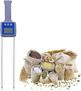 Huanyu Humidimètre pour grains Huanyu Precision 5% -35% Détecteur d'humidité avec sonde de compensation de température aut...