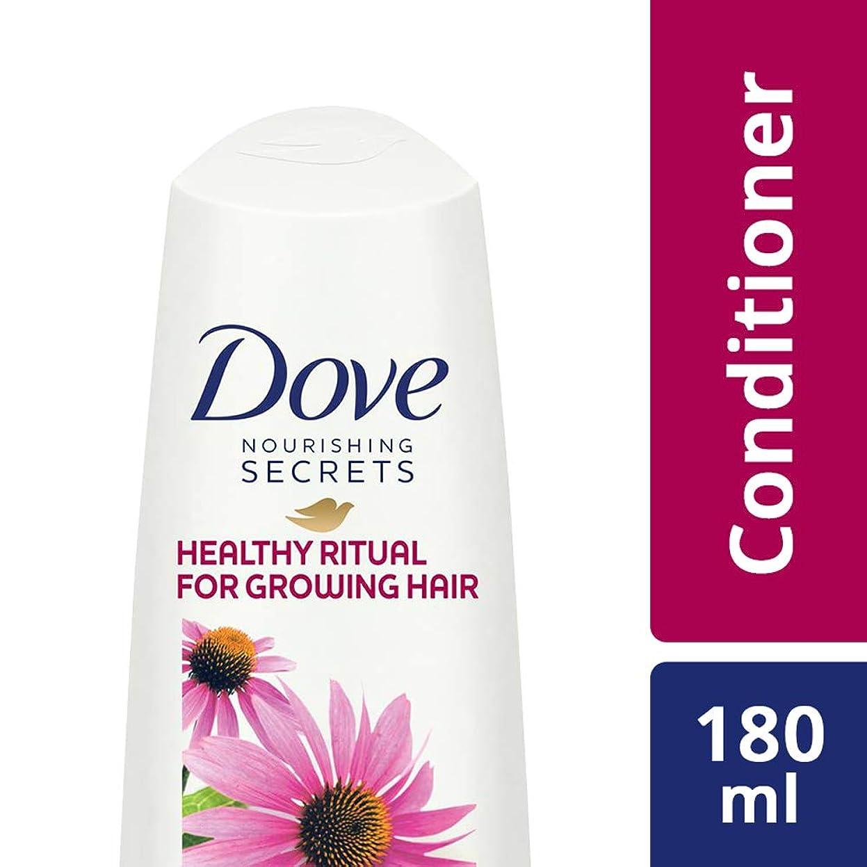 賢い仮装答えDove Healthy Ritual for Growing Hair Conditioner, 180 ml (Coneflower, Oil and White Tea)