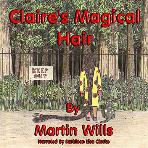 Claire's Magical Hair audiobook cover art