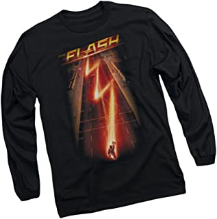 Down The Street -- CW's The Flash TV Show Adult Long-Sleeve T-Shirt