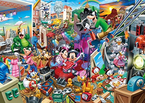 300ピース ジグソーパズル ディズニー ミッキーのムービースタジオ(30.5x43cm)