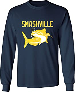 KING THREADS Smashville Nashville Catfish Men's Long Sleeve T-Shirt