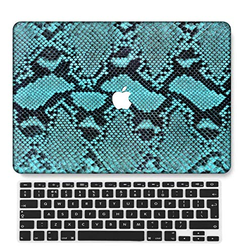 GangdaoCase Plastic Ultra Slim Light Hard Shell Case Cut Out Design Compatible New MacBook Pro 15 inch with Touch Bar/Touch ID with UK Keyboard Cover A1707/A1990 (Outdoor A 12)