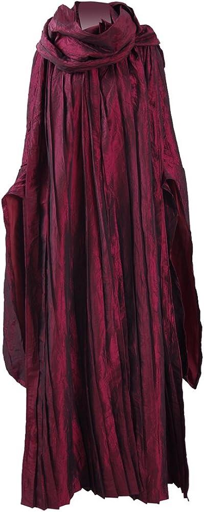 Melisandre Costume Halloween Cosplay Party Recommendation Philadelphia Mall Set Dress Full f Long
