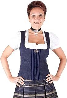 Wenger Austria Wenger Trachtenmieder Gina blau Stretch