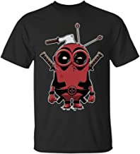 minionpool Minions Divertido Dibujos Animados de cómics de Marvel Deadpool t-Shirt-Unisex