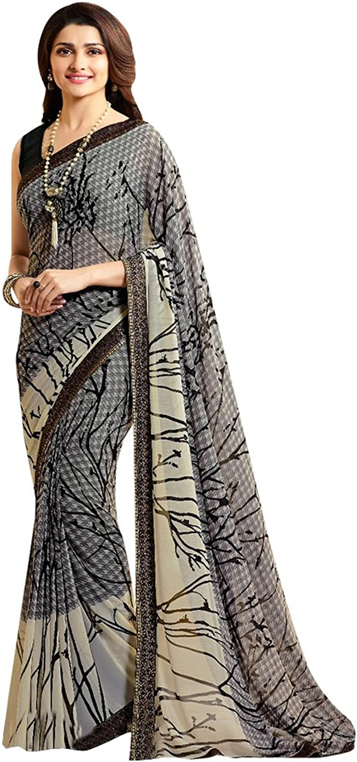 Bollywood Saree Sari Collection Blouse Wedding Party Wear Ceremony Women 666 1