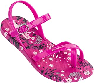 Ipanema Suzi Print Girls' Sandals, Black/Black (1 US)