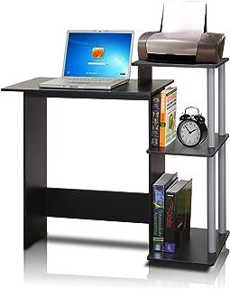Furinno 11192BK/GY Efficient Computer Desk, Black/Grey