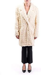 BE BLUMARINE BY BLUMARINE Luxury Fashion Womens 853000098 White Coat | Fall Winter 19