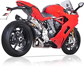 DUCATI SUPERSPORT FULL SYSTEM TWIN GUNSHOT 52 TITANIUM MUFFLERS