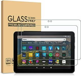 PULEN [2-Unidades] Amazon Fire HD 8 2020/Amazon Fire HD 8 Plus/Amazon Fire HD 8 Kids Edition Protector de Pantalla, Vidrio...