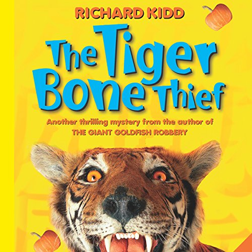 The Tiger Bone Thief audiobook cover art