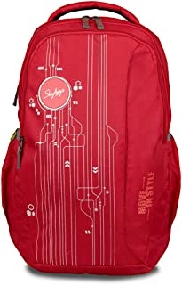 Buy Skybags 33 Ltrs Red Laptop Backpack (BPSPA2RED) at Amazon.in