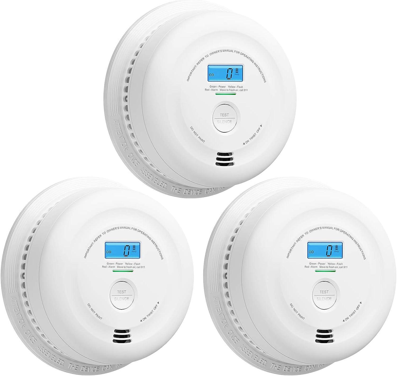 X-Sense 40% OFF Cheap Sale SC08 10-Year Ranking TOP5 Battery Smoke Detector and Carbon Monoxide