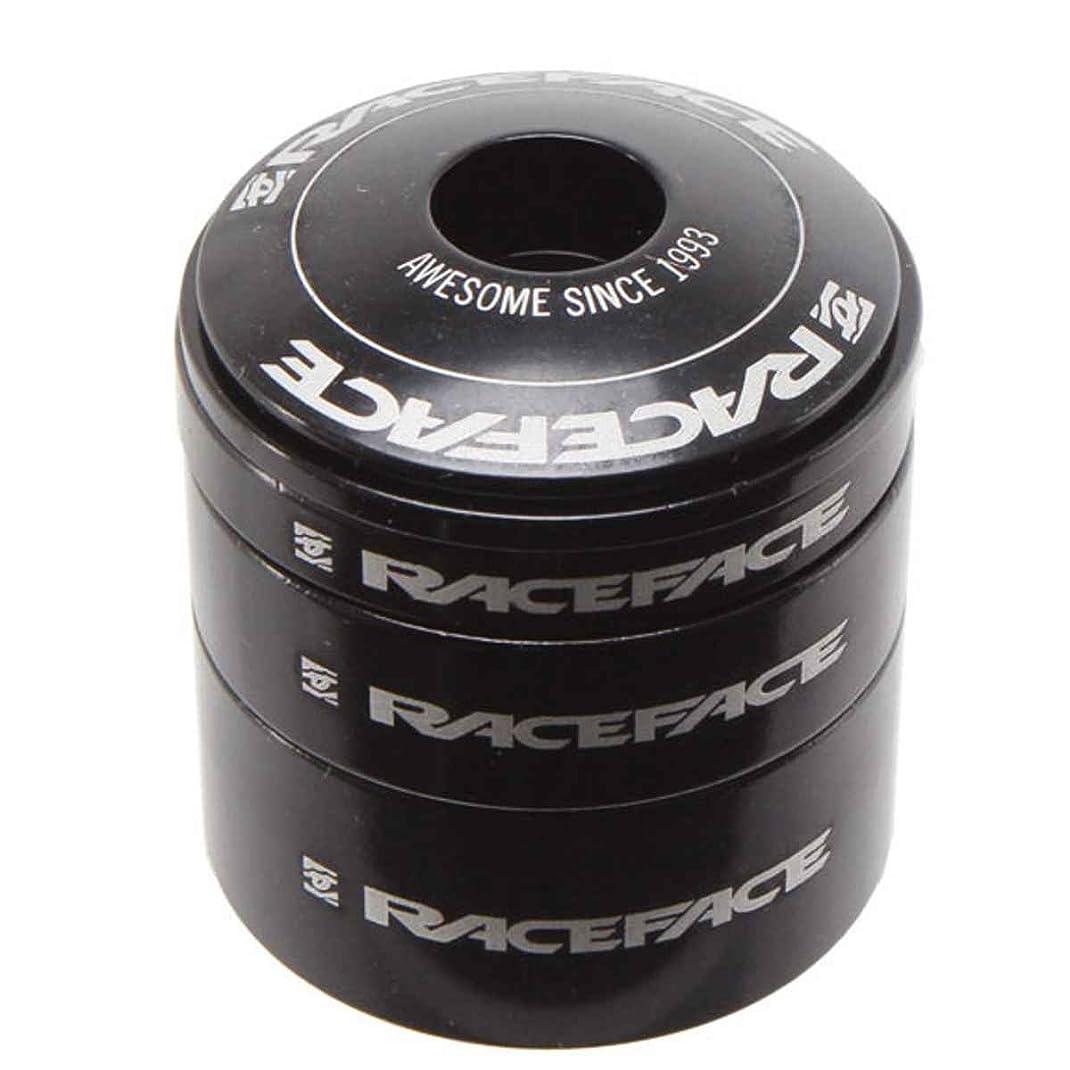 クリスチャン滑りやすい調べるRACEFACE(レースフェイス) ヘッドセット スペーサーキット ALUMINUM BLK ブラック