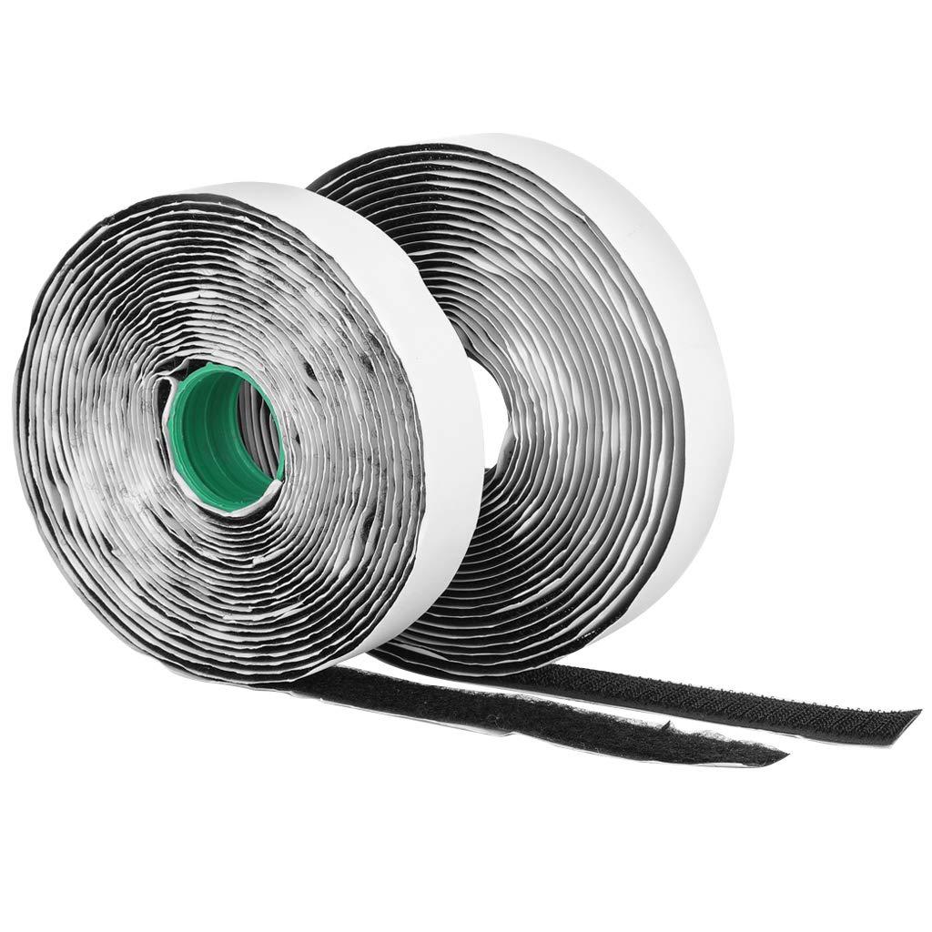 FIXMAN Self-Wrap Hook /& Loop Tape Black