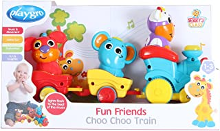 Playgro 6385511 Fun Friends Choo Choo Train for Baby Infant Toddler Children, Playgro is Encouraging Imagination with STEM/STEM for a Bright Future - Great Start for a World of Learning