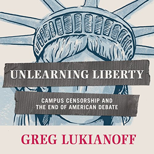 Unlearning Liberty audiobook cover art