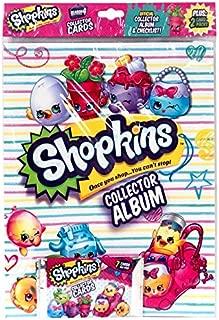 Shopkins OFFICIAL Collector Album SEASON 4 PLUS:2 Card Packs