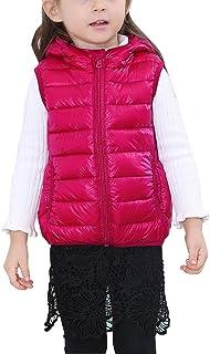 0e82c3bd5 Chaquetas de Plumón Infantil Niños Niñas Chaleco Acolchado con Capucha  Chaqueta Vest