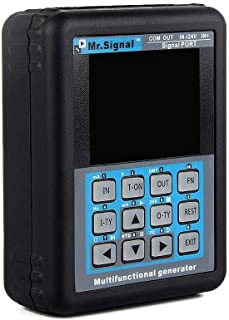 TOPCHANCES Upgrade MR Signal Calibrator Current Generator Source PLC Valve Simulator 4~20mA/0~10V (Upgrade Design)