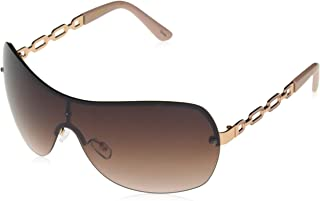 Southpole Women's 1023sp Rgdrs Non-polarized Iridium Shield Sunglasses, Rose Gold Rose, 160 mm