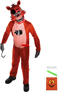 Five Nights at Freddys Foxy Child Costume Kit L with Safety Light