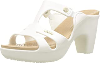 Crocs Cyprus V Heel W, Escarpins Bout ouvert Femme