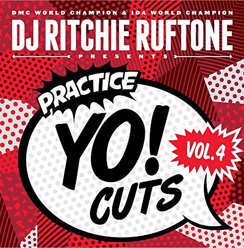 "DJ RITCHIE RUFTONE Practice Yo! Cuts vol. 4 - 12"" vinyl"
