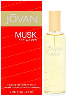 Jovan Jovan Jovan Musk by Coty for Women Cologne Concentrate Spray 3.25 Oz
