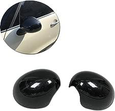 Rqing For 2018 2019 New MINI COOPER/MINI COOPER S Rear View Mirror Cover Trims (Carbon Fiber)