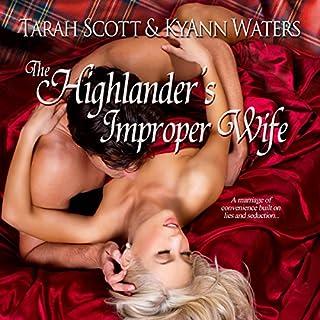 The Highlander's Improper Wife audiobook cover art