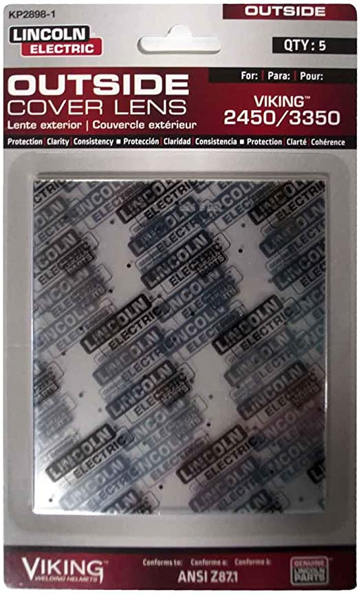 Lincoln Electric KP3044-1 VIKING 3350 Inside Cover Lens 5 pack