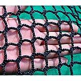 安全ネット 防護ネット 階段ネット 子供 幼児 転落防止網 簡単設置 丈夫 取り付けバンド付属 目合:35mm 1×5m