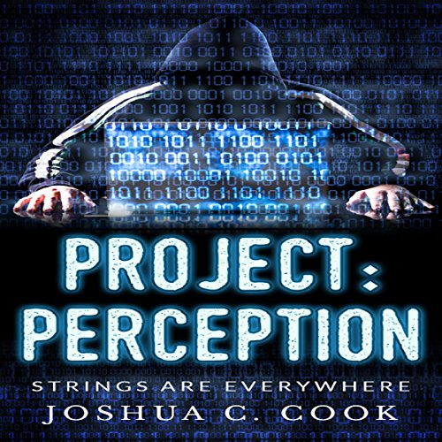 Project: Perception audiobook cover art