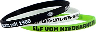 Borussia Mönchengladbach 3-er Set Silikonarmbänder VFL