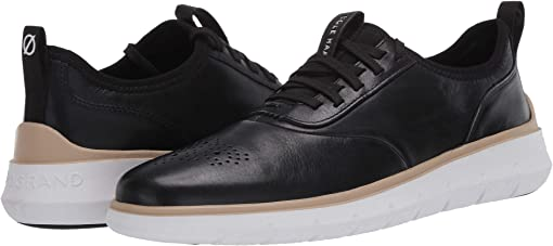 Black Leather/Perf/Optic White