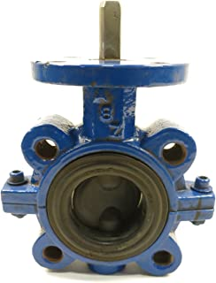 ABZ 2-101 Iron FLANGED Butterfly Valve 2IN D599686