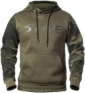Camouflage Hoodies Men Sweatshirt Male Camo Hoody Hip Autumn Winter Military Hoodie Mens Clothing US/EUR Size